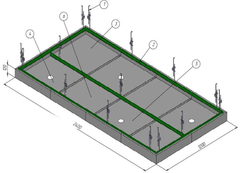 Схемы монтажа потолка